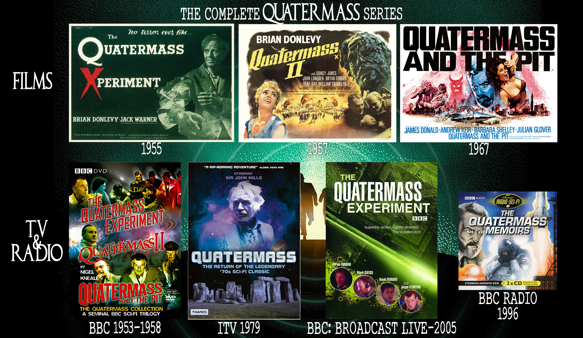 Quatermas TV Film Radio