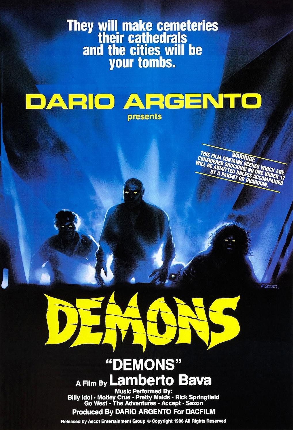 Demons 1985 Poster