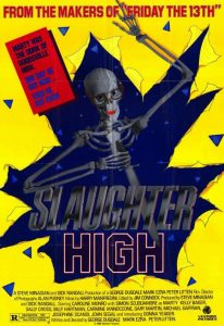 Slaughter High April Fools Day Poster