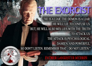 The Exorcist Horror Quote