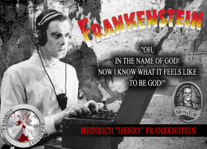 Frankenstein Horror Quote