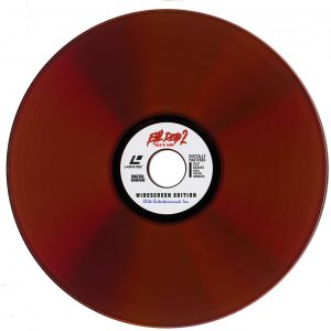 Evil Dead 2 Blood Red Disc