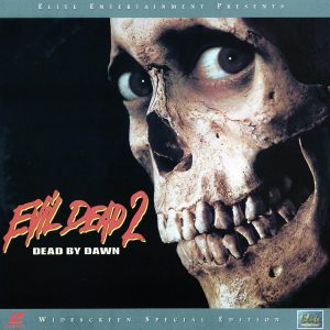 Evil Dead 2 Blood Red Front Cover