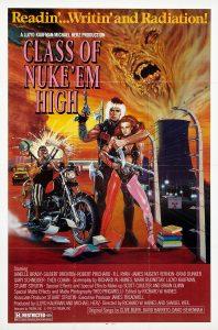 Class of Nuke'em high Poster