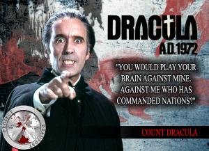 Dracula A.D. 1972 Horror Quote