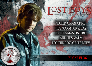 Lost Boys The Tribe Horror Quote