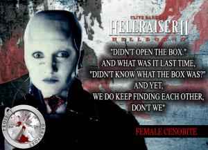Hellraiser 2 Hellbound Horror Quote