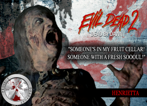 Evil Dead 2 Horror Quote