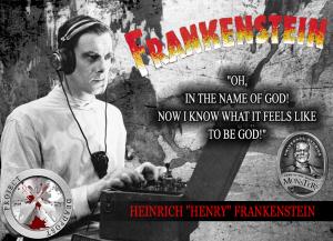 Frankenstein Horror Quote