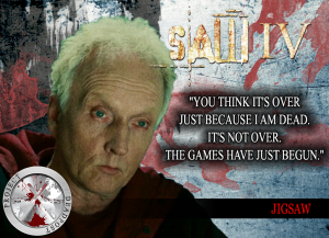Saw 4 Horror Quote