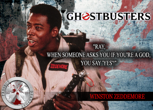 Ghostbusters Horror Quote