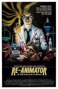 Re-Animator Poster 1985