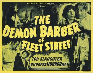 Sweeny Todd The Demon or Barber Street 1936