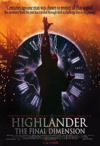Highlander 3 The Sorcerer 1994 Poster